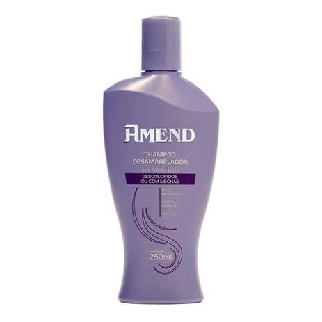Shampoo Desamarelador Cabelos Descoloridos Amend - 250ml