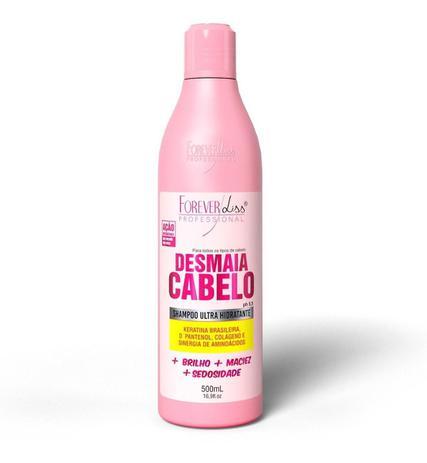 Imagem de Shampoo Desmaia Cabelo Ultra Hidratante Forever Liss 500ml