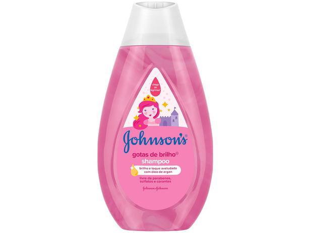 Imagem de Shampoo Infantil Johnsons Gotas de Brilho