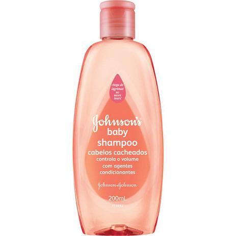 Imagem de Shampoo Johsons Baby 200ml Cachos Definidos