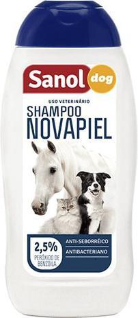 Imagem de Shampoo Novapiel Sanol Cães, Gatos e Cavalos 500ML
