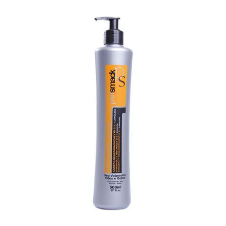 Imagem de Shampoo Pet Smack Desembaraçador 2x1 500ml - Com Extrato de Lanolina