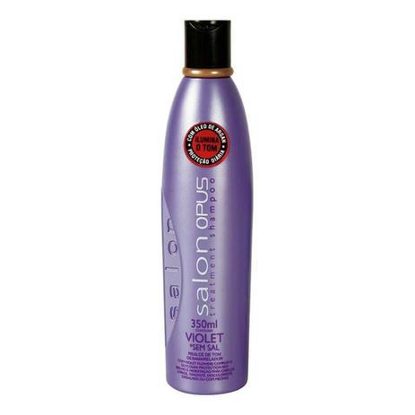 Shampoo Salon Opus Desamarelador Violet - 350ml