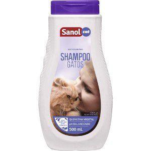 Imagem de Shampoo Sanol Gatos 500ML