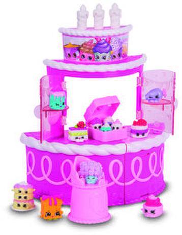 Shopkins Bolo De Aniversário Surpresa Super Festa Dtc Brinquedos