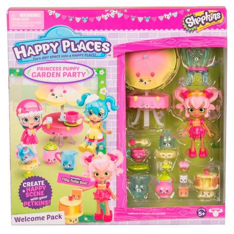 Imagem de Shopkins Dtc Happy Places kit Boas vindas Festa no Jardim