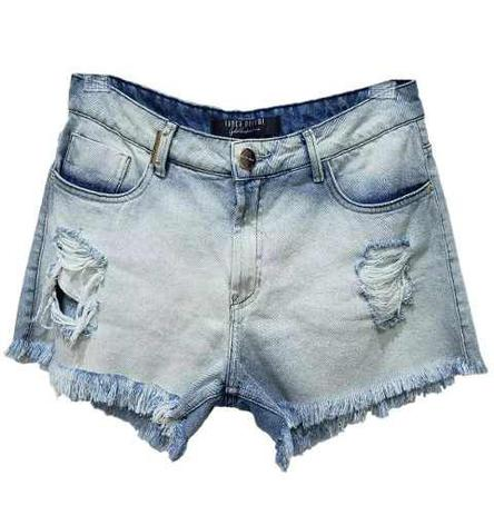Imagem de Short Jeans Feminino Hot Pants Lança Perfume