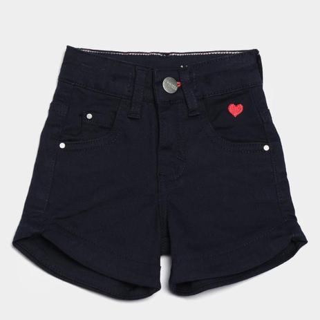 Imagem de Short Jeans Infantil Malwee Comfort Feminino
