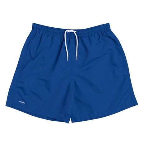 Shorts Masculino Liso Mash Azul - Vestuário Esportivo - Magazine Luiza fe88183878e9a