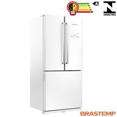 Imagem de Side Inverse French Door de 03 Portas Frost Free Brastemp com 540 Litros Branco - GRO80AB
