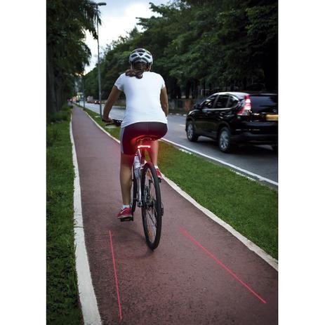 Imagem de Sinalizador para bike com controle remoto Atrio BI092