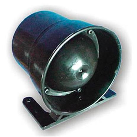 Imagem de Sirene piezoelétrica 24v 115 db 6 toques para alarmes ou ré em automóveis
