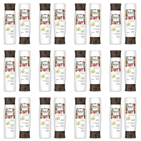 Imagem de Skala Keratina Shampoo + Condicionador 325ml (Kit C/12)