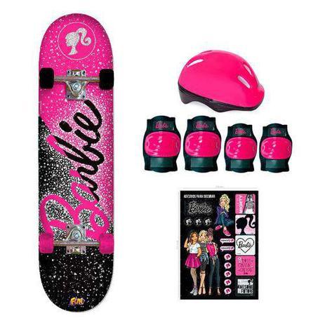 Skate barbie com acessorios - Barao - Skate Infantil - Magazine Luiza 442c1d9906f