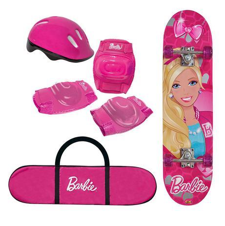 Skate Barbie com Kit de Segurança 7619-1 Fun - Fun divirta-se ... 1ba2cbecd3e