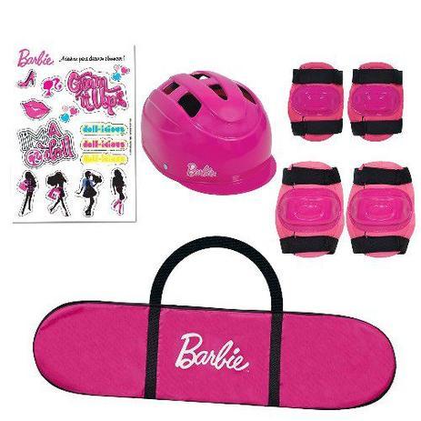 2a2e674b980a1 Skate com Acessorios Barbie FUN 7619-1 - Skate Infantil - Magazine Luiza