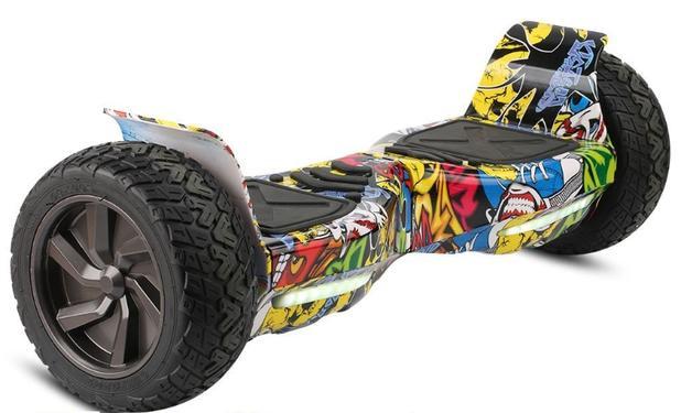 Imagem de Skate Elétrico Hoverboard Off-Road Lançamento 8,5 Polegadas Hip-Hop