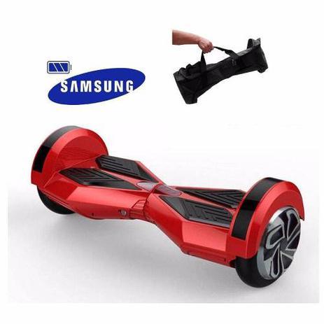 Imagem de Skate elétrico Hoverboard Wheel 8.0p Bluetooth + Bolsa