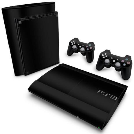 Imagem de Skin Adesivo para PS3 Super Slim - Preto Black Piano