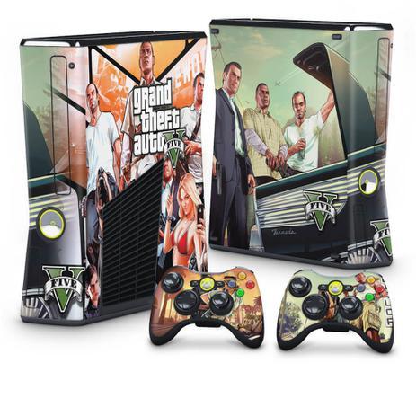 Imagem de Skin Adesivo para Xbox 360 Slim - Modelo 085