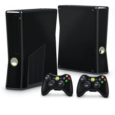 Imagem de Skin Adesivo para Xbox 360 Slim - Preto Black Piano