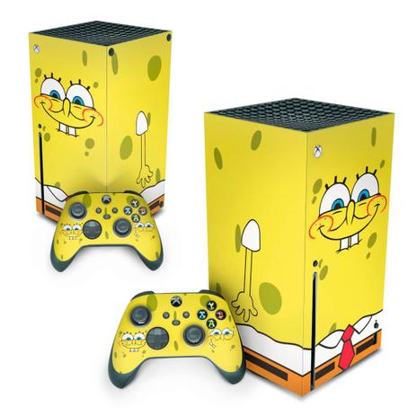Imagem de Skin Adesivo para Xbox Series X - Bob Esponja