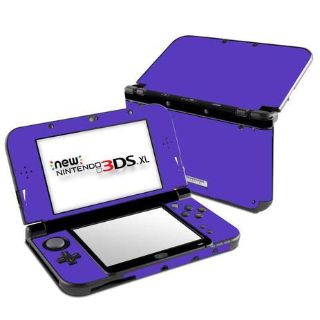 Imagem de Skin Adesivo Protetor New Nintendo 3DS XL (Roxo)