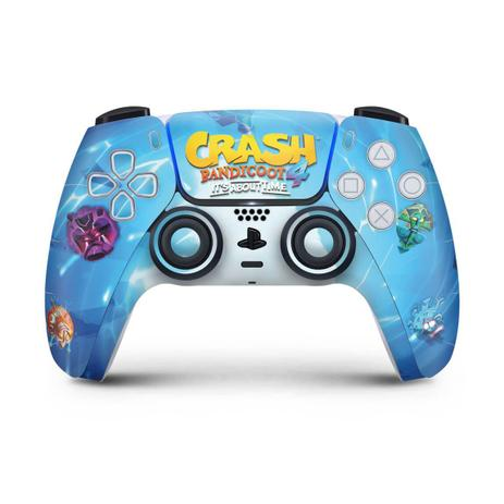 Imagem de Skin Adesivo PS5 Controle Playstation 5 - Crash Bandicoot 4