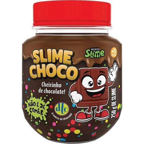 Imagem de Slime Choco Chocolate de Avela com Cheirinho 250 g Dtc 5209
