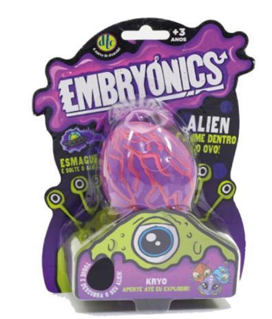 Imagem de Slime Embryonics Alien Surpresa Roxo ou rosa -  DTC