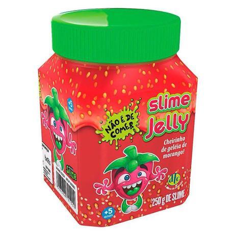 Imagem de Slime Jelly com Cheirinho - Morango - DTC