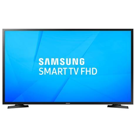 Imagem de Smart TV 40 LCD LED Samsung UN40J5290AGXZD, Full HD, com Wi-Fi, 1 USB, 2 HDMI, ConnectShare, Clean View e 60 Hz