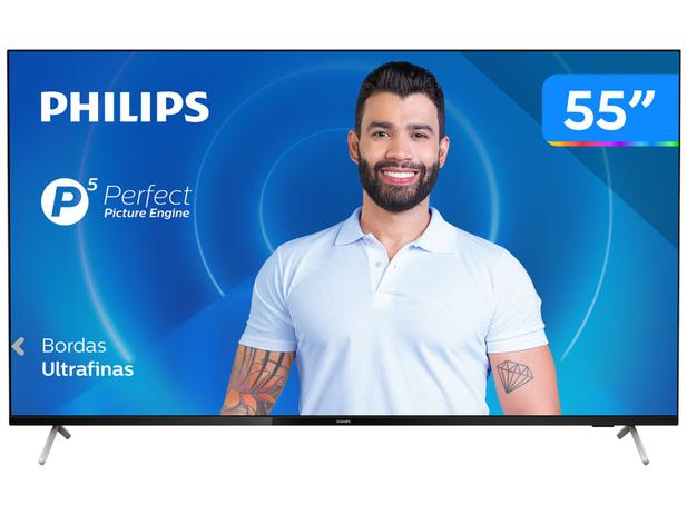 "Imagem de Smart TV 4K 55"" Philips 55PUG7625/78"