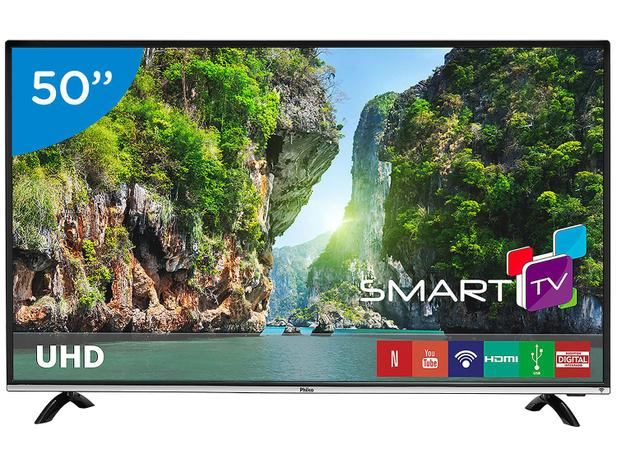 "Imagem de Smart TV 4K LED 50"" Philco PTV50F60SN Wi-Fi"