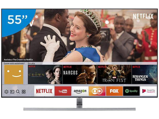 """Imagem de Smart TV 4K QLED 55"""" Samsung 55Q7FAM Wi-Fi"""