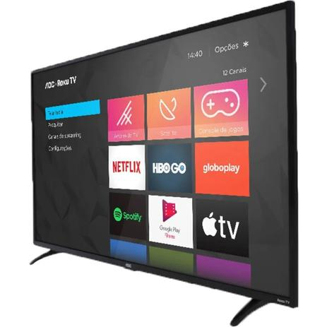 Imagem de Smart TV AOC Roku TV LED 32