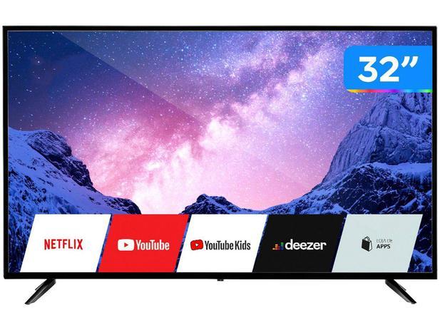 "Imagem de Smart TV HD D-LED 32"" Multilaser TL026 Wi-Fi - 2 HDMI 2 USB"