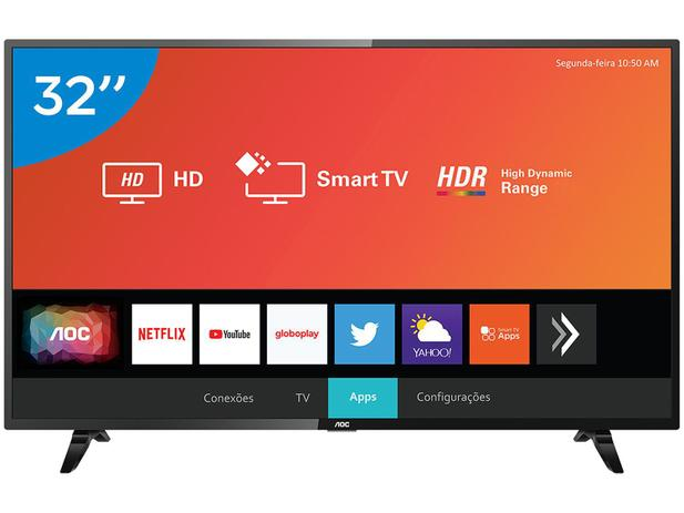 """Imagem de Smart TV LED 32"""" AOC 32S5295/78G Wi-Fi"""
