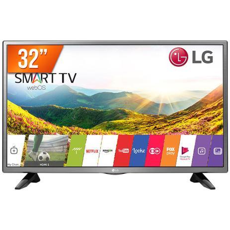 Smart TV LED 32 HD LG PRO 32LJ600B 2 HDMI USB Wi-Fi Integrado Conversor Digital