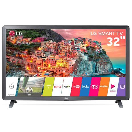 Imagem de Smart TV Led 32 Polegadas LG HD Thinq AI Conversor Digital Integrado 3 HDMI 2 USB Wi-Fi