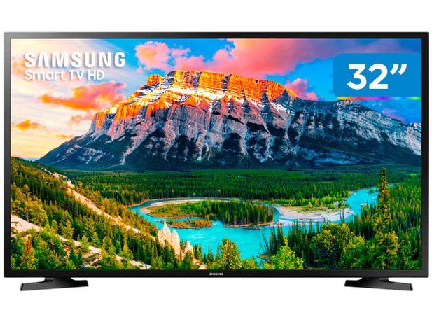"""5b559607006 Smart TV LED 32"""" Samsung J4290 Wi-Fi - Conversor Digital 2 HDMI 1 USB"""