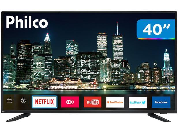 """Imagem de Smart TV LED 40"""" Philco PTV40E60SN Full HD"""