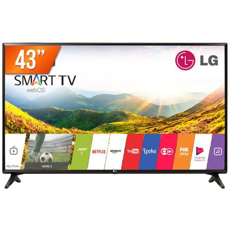 Imagem de Smart TV LED 43 Full HD LG PRO 43LJ551C 2 HDMI USB Wi-Fi Integrado Conversor Digital