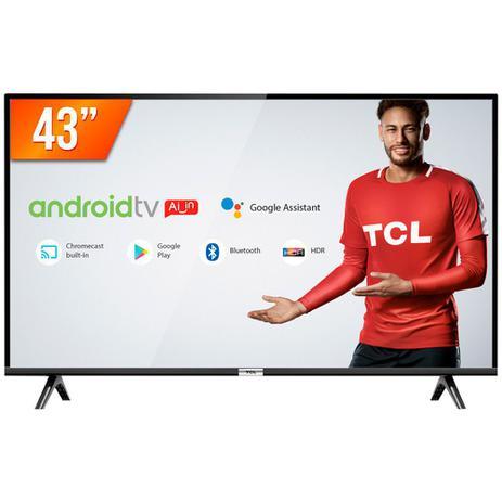 Menor preço em Smart TV LED 43'' Full HD TCL 43S6500S Android OS 2 HDMI 1 USB Wi-Fi