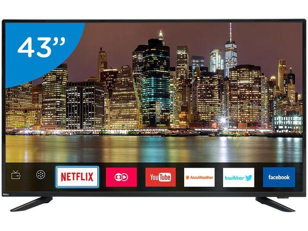 """Imagem de Smart TV LED 43"""" Philco Full HD PTV43E60SN"""