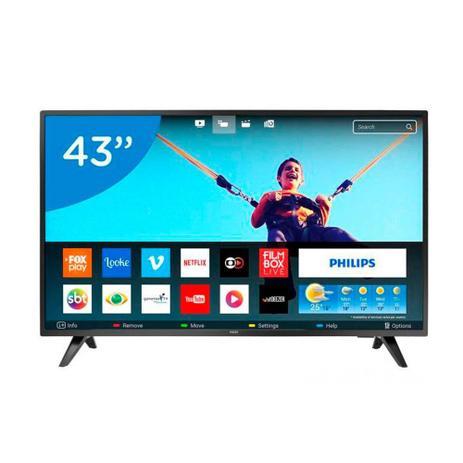 Imagem de Smart TV LED 43 Polegadas Philips 43PFG5813 Full HD Netflix 2 HDMI 2 USB