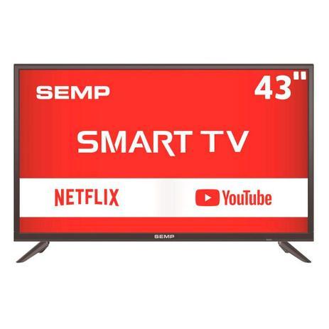 a4ba65127b3 Smart TV LED 43 Polegadas Semp Toshiba Full HD Conversor Digital 2 HDMI 1  USB L43S3900FS