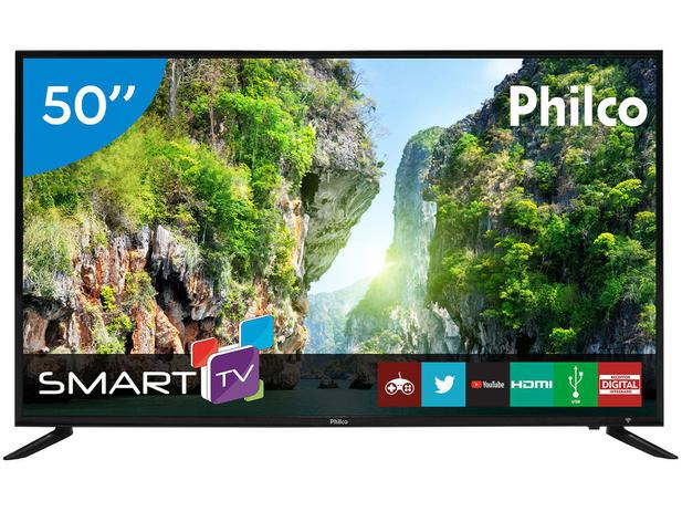 """Imagem de Smart TV LED 50"""" Philco PTV50D60SA Full HD"""