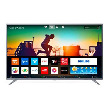 2d5e6afffbe Smart TV LED 50 Polegadas Philips 50PUG6513 4K USB 3 HDMI Netflix - Aoc
