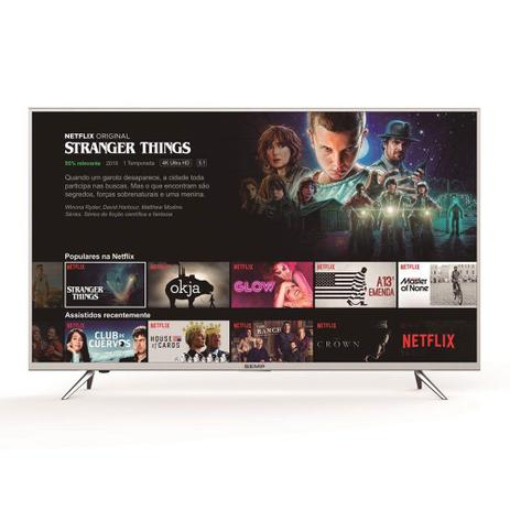 Imagem de Smart TV LED 55 Polegadas Semp Toshiba TCL K1 Ultra HD 4k HDR com Wifi Integrado 3 HDMI 2 USB